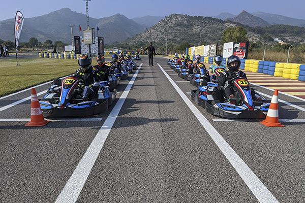carreras karts en grupo