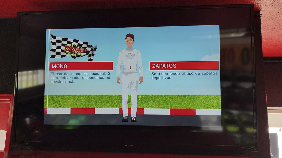 briefing circuito karts castellon
